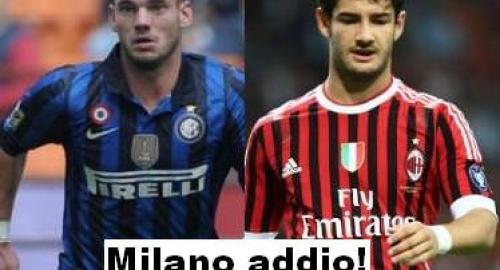 Calciomercato Inter Milan: Pato e Sneijder via da Milano, Parigi li attende